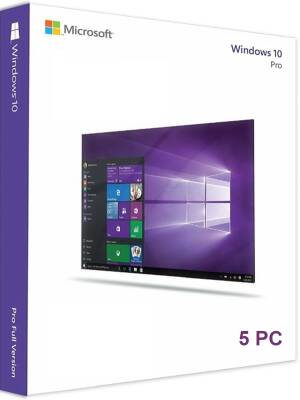 Windows 10 PRO Retail - 5PC